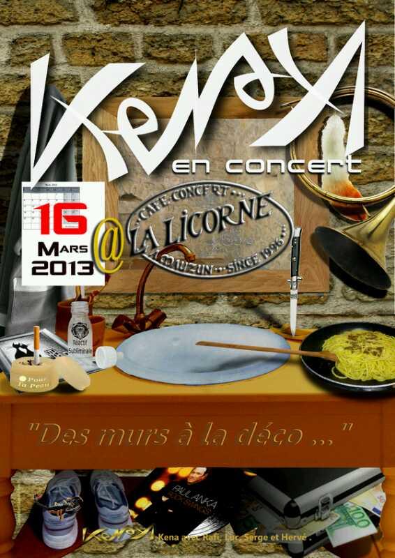 L'affiche du Concert du 16 mars 2013