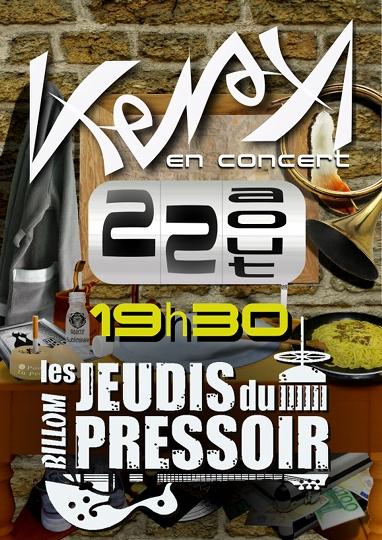 Kena en Concert le 22 Aout 2013 !!